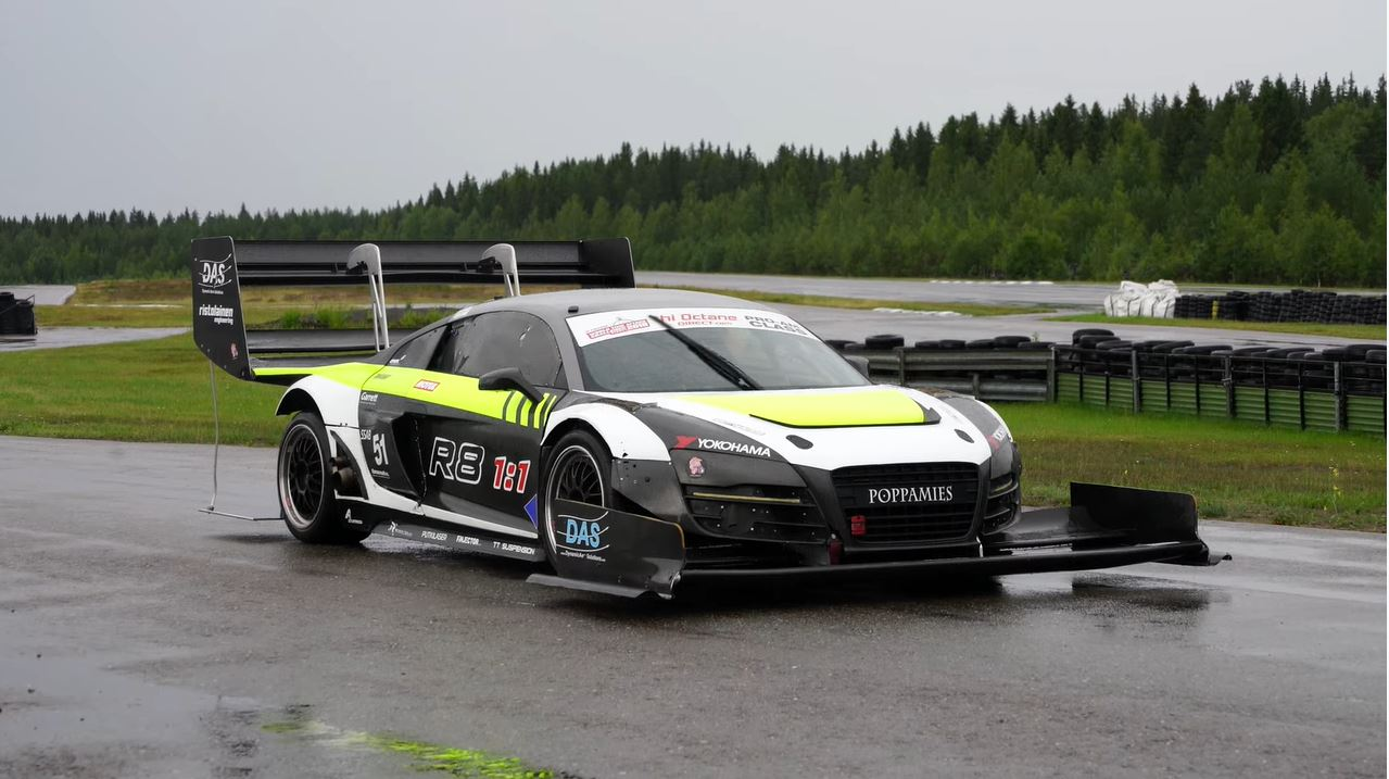 Audi R8 Time Attack
