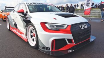 Audi RS3 LMS dragracing