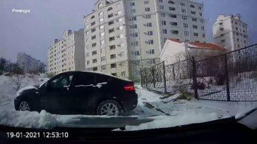 BMW X6 ontwijken