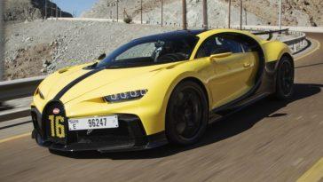 Bugatti Chiron Pur Sport Dubai
