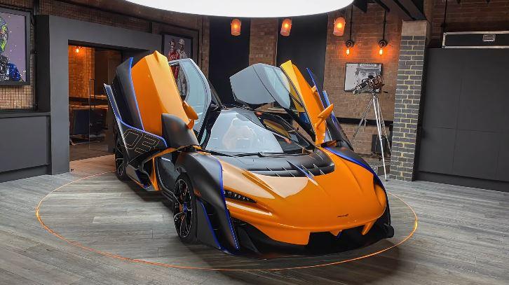 Een exclusieve blik op de McLaren Sabre