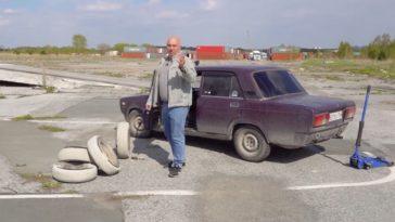Garage 54 maakt betonnen wielen voor Lada