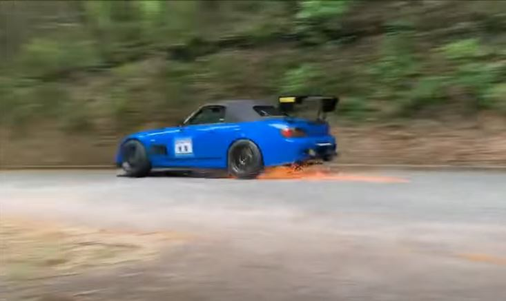 Honda S2000 op Gunsai Touge