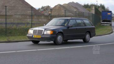 Klokje Rond - Mercedes-Benz 200 T met 615.991 km