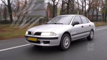 Klokje Rond - Mitsubishi Carisma met 558.000 km