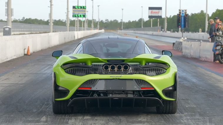 McLaren 765LT kwart mijl