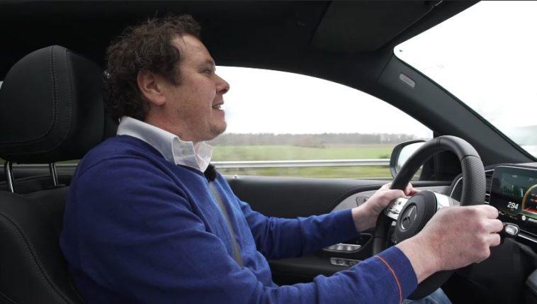 Mercedes-AMG GLE 63S Coupe krijgt lekke band bij 295 kmh