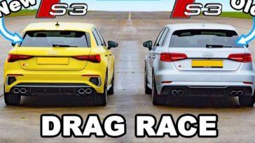 Nieuwe Audi S3 neemt het op tegen oude Audi S3