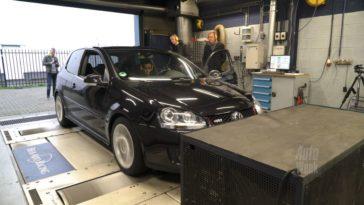 Op de Rollenbank - Volkswagen Golf GTI ABT