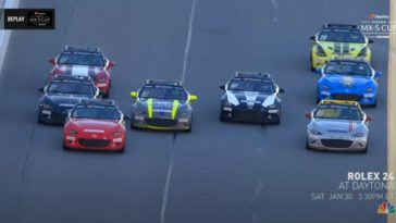 Sensationele finish Mazda MX-5 Cup op Daytona