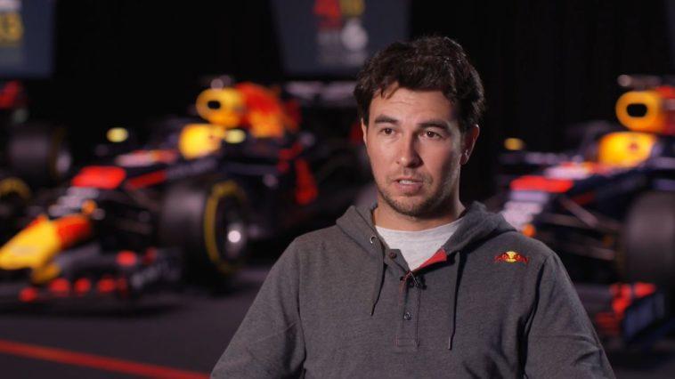 Sergio Perez geeft eerste interview als Red Bull-coureur