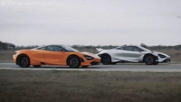 Zie het verschil tussen de McLaren 765LT en 720S