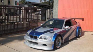 BMW M3 GTR NFS