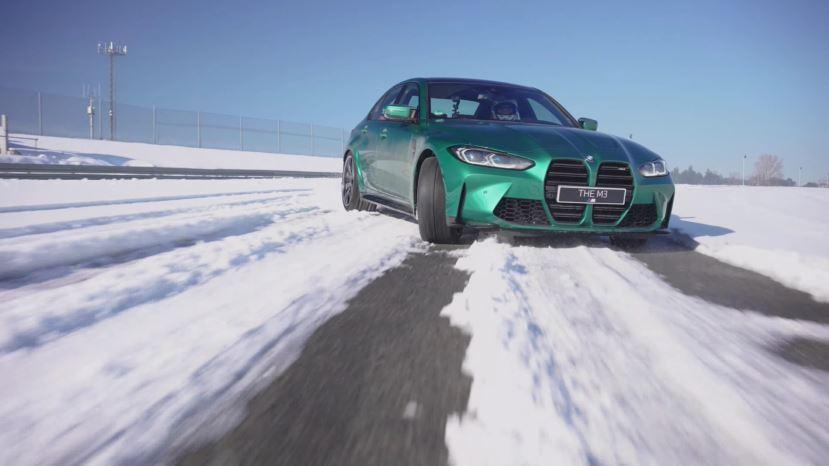 BMW-M3-in-sneeuw