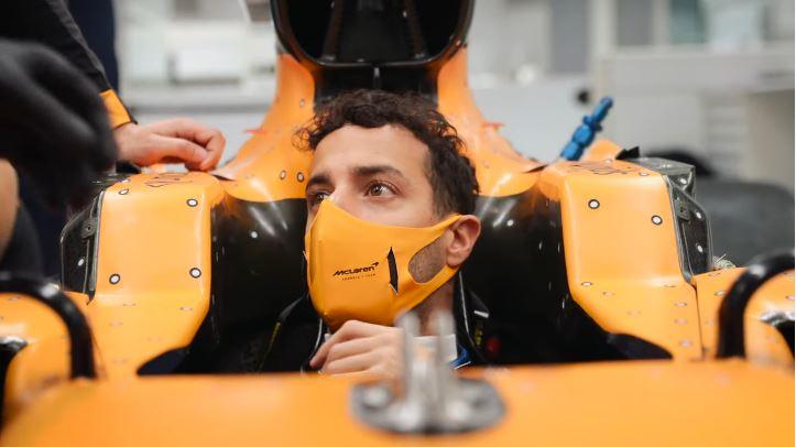 Daniel Ricciaro in McLaren