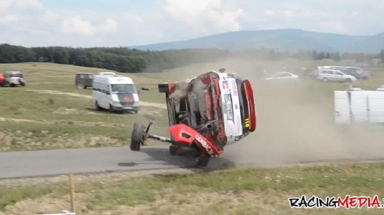 De beste rally crashes van 2020