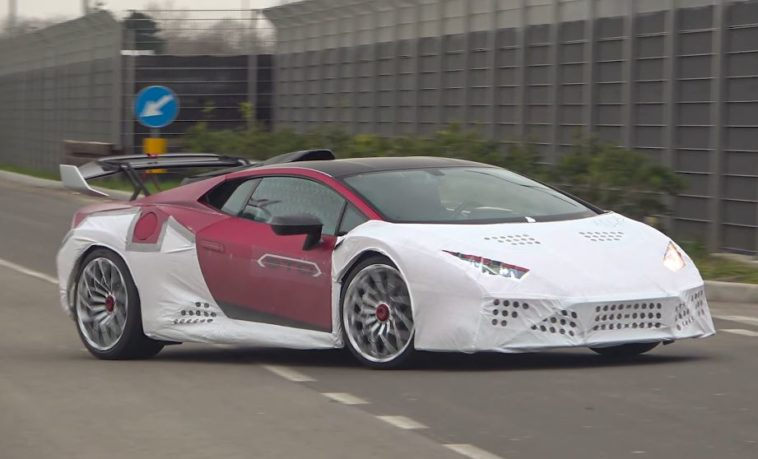 De hardcore Lamborghini Huracán STO is gespot