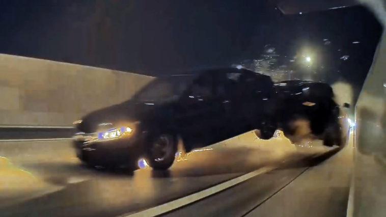 Dodge Challenger Crash