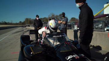 Grosjean test voor het eerst met IndyCar