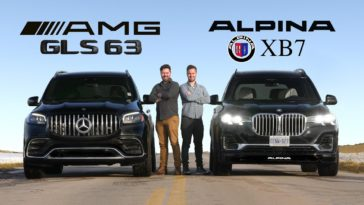 Mercedes-AMG GLS 63 vs BMW Alpina XB7