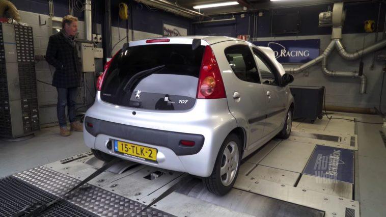 Op de Rollenbank - Peugeot 107
