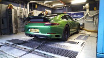Op de Rollenbank - Porsche 911 Carrera 4 GTS