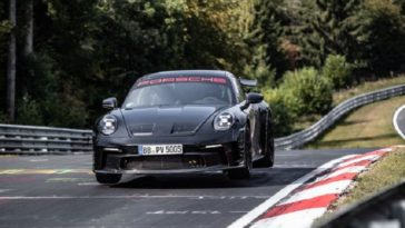 Porsche 992 GT3 Nordschleife Lap