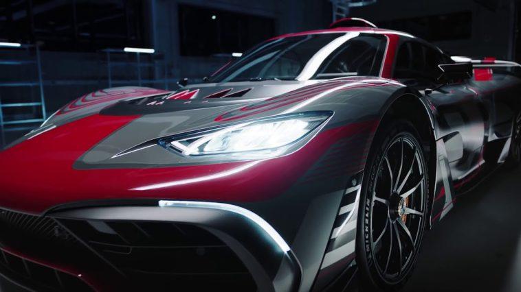 Teaser Mercedes-AMG One