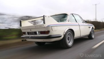 Tiff Needell test de BMW 3.0 CSL