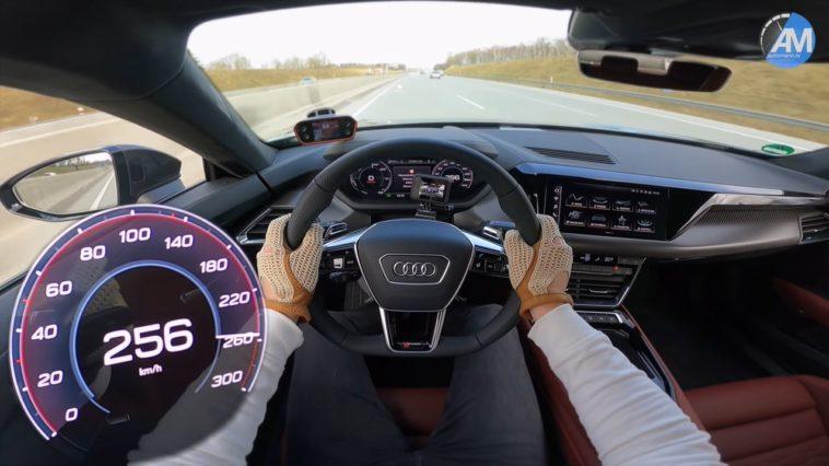 Audi RS e-tron GT van 0 naar 256