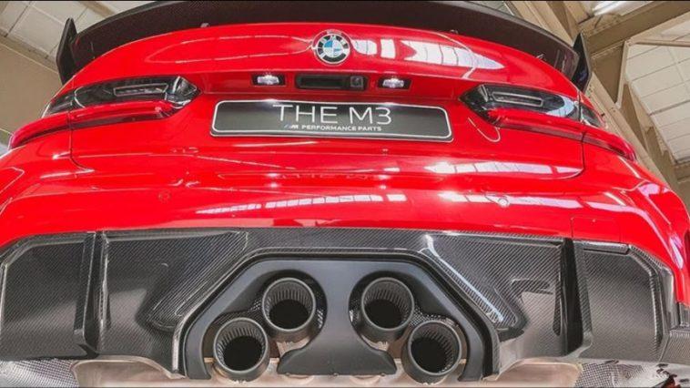 BMW M Performance uitlaat