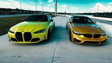 BMW M4 G82 vs BMW M4 F82