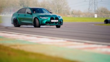Chris Harris test de nieuwe BMW M3