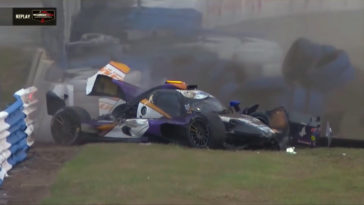 De Motorsport Crashes van week 11