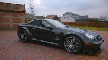 Mercedes SL65 AMG Black Series Rijtest