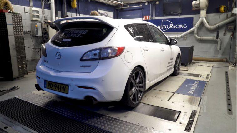 Op de Rollenbank - Mazda 3 MPS