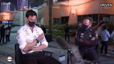 Toto Wolff & Christian Horner bespreken GP Bahrein
