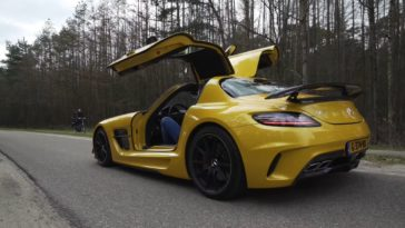 Van Stokkum test Mercedes-AMG SLS Black Series