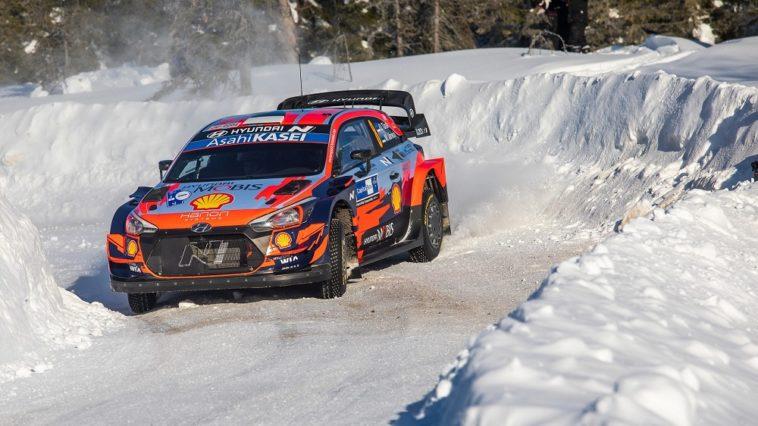 WRC Artic Rally