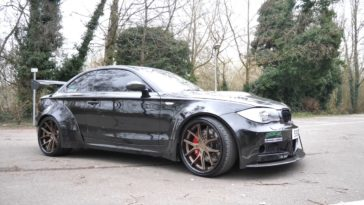 BMW 1-Serie met Supercharged V8