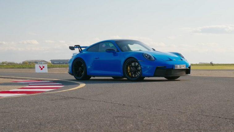 Chris Harris test de nieuwe Porsche 992 GT3