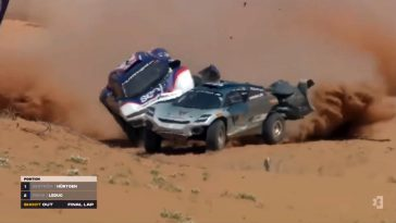 De Motorsport Crashes van Week 13