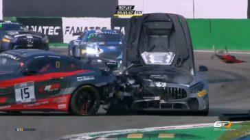 De Motorsport Crashes van week 15