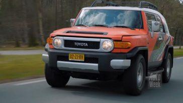 Klokje Rond - Toyota FJ Cruiser met 484.280 km