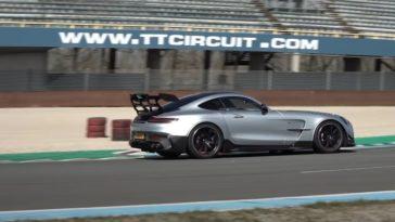 Mercedes-AMG GT Black Series bezoekt TT Circuit Assen