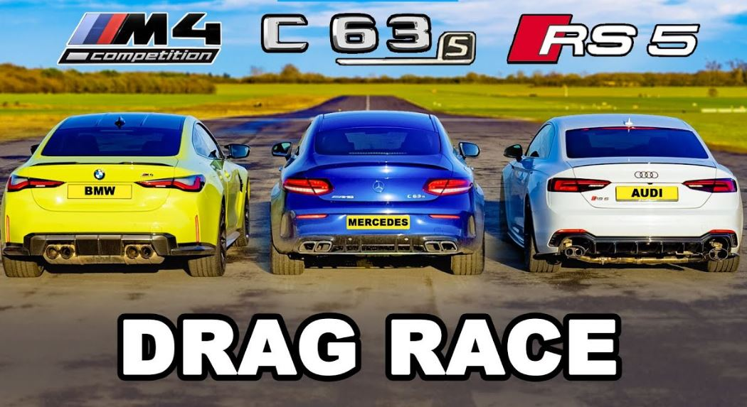 Nieuwe BMW M4 vs Mercedes-AMG C63 vs Audi RS5