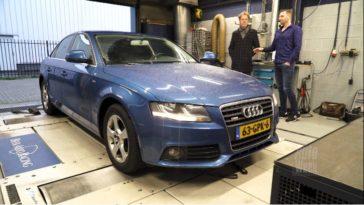 Op de Rollenbank - Audi A4 1.8 TFSI