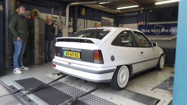 Op de Rollenbank - Opel Kadett 2.0 GSI