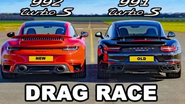 Porsche 991 Turbo S vs Porsche 992 Turbo S