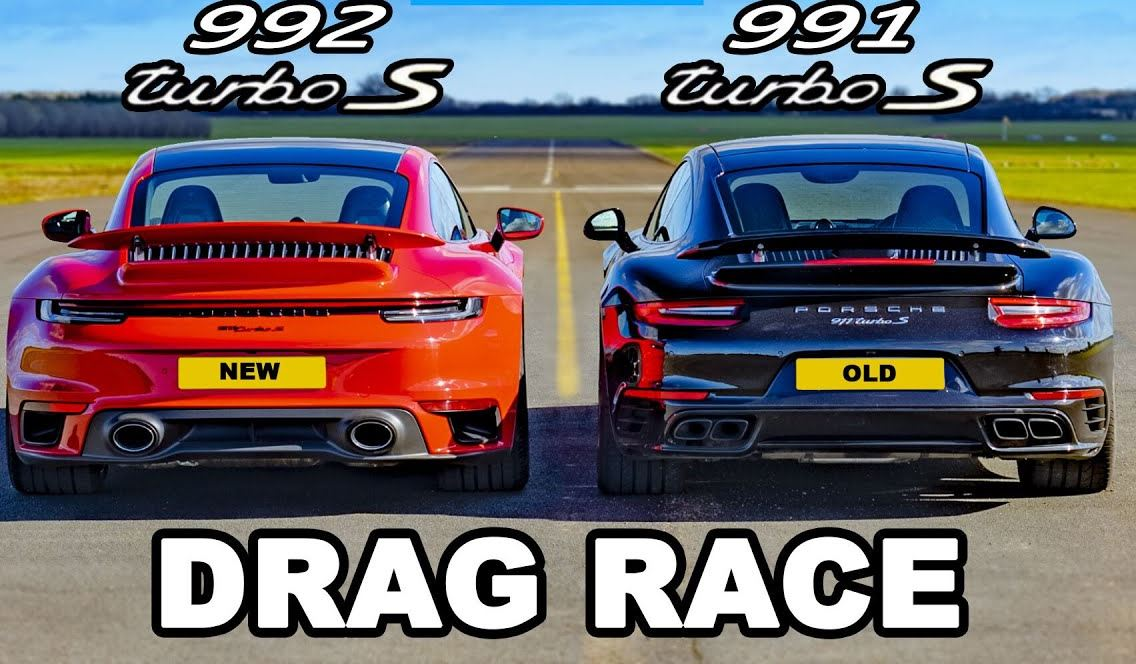 Porsche 991 Turbo S vs Porsche 992 Turbo S